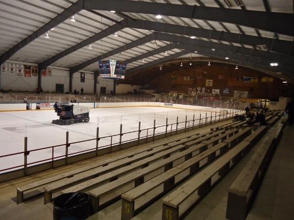 Roaming The Rinks Rostraver Ice Garden